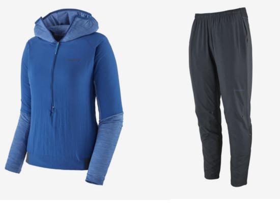 Patagonia Airshed Pro Shirt und Strider Pro Pants