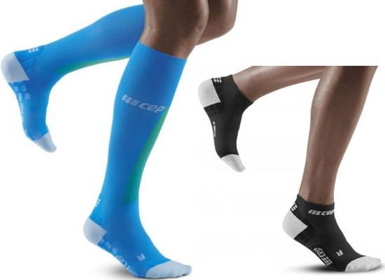 CEP Ultralight Low Cut & Ultralight Pro Compression Socks