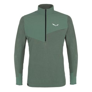 Salewa Alpine Hemp Men´s Half Zip Long Sleeve Tee